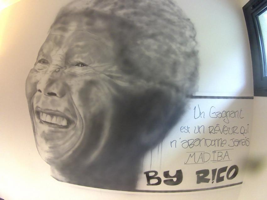 Nelson Mandela by ericbelet